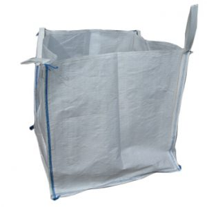 1 tonne bulk bag with skirt top and spout bottom - 1 Item