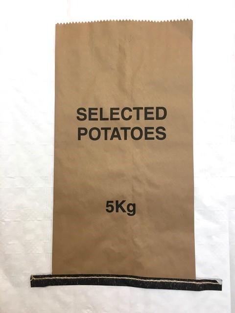 5kg printed kraft sack